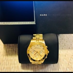 Beautiful gold plated Marc by Marc Jacobs watch